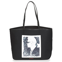 Tasker Shopping Karl Lagerfeld KARL LEGEND CANVAS TOTE Sort