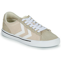 Sko Lave sneakers Hummel NILE CANVAS LOW Beige