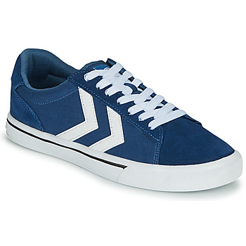 Sko Lave sneakers Hummel NILE CANVAS LOW Blå