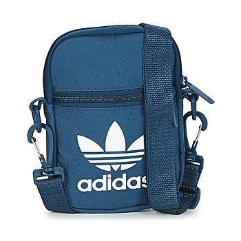 Tasker bæltetasker & clutch  adidas Originals FEST BAG TREF Blå / Marineblå / Nat
