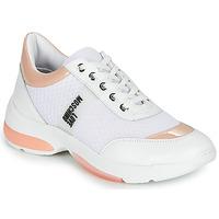 Sko Dame Lave sneakers Love Moschino RUN LOVE Hvid / Pink