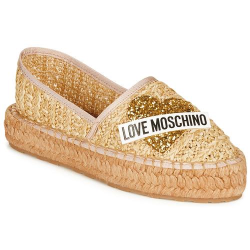 Sko Dame Espadriller Love Moschino JA10393G0A Beige