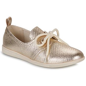 Sko Dame Lave sneakers Armistice STONE ONE Guld