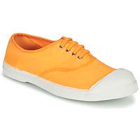 Sko Dame Lave sneakers Bensimon TENNIS LACET Orange