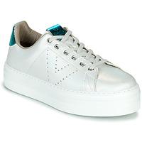 Sko Dame Lave sneakers Victoria BARCELONA METAL Hvid
