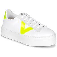 Sko Dame Lave sneakers Victoria BARCELONA LONA Hvid
