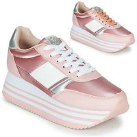 Sko Dame Lave sneakers Victoria COMETA DOBLE METAL Pink