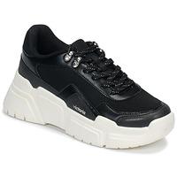 Sko Dame Lave sneakers Victoria TOTEM Sort / Hvid