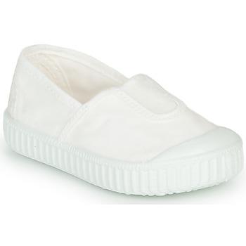 Sko Pige Lave sneakers Victoria CAMPING TINTADO Hvid