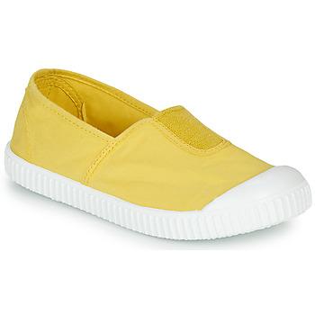 Sko Pige Lave sneakers Victoria CAMPING TINTADO Gul