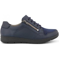 Sko Dame Lave sneakers New Feet 192-23-240 03-0693 blue