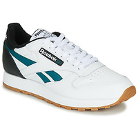 Sko Herre Lave sneakers Reebok Classic CL LEATHER MU Hvid / Sort