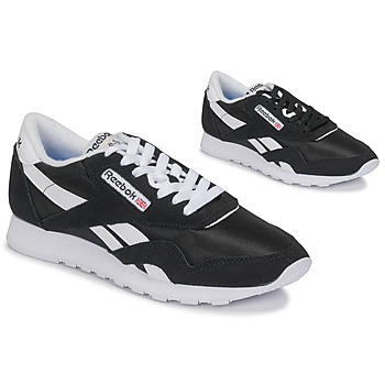 Sko Lave sneakers Reebok Classic CL NYLON Sort