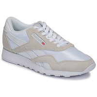 Sko Lave sneakers Reebok Classic CL NYLON Hvid / Beige