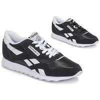Sko Dame Lave sneakers Reebok Classic CL NYLON Sort
