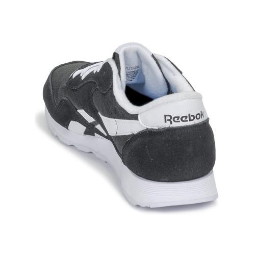 CL NYLON  Reebok Classic  lave sneakers  dame  sort m5NPL
