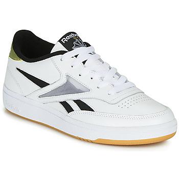 Sko Dame Lave sneakers Reebok Classic CLUB C REVENGE MARK Hvid / Guld