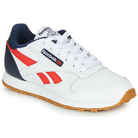 Sko Dreng Lave sneakers Reebok Classic CLASSIC LEATHER Hvid