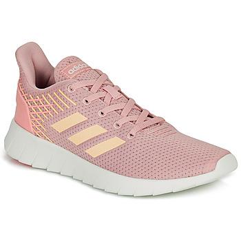Sko Dame Løbesko adidas Performance ASWEERUN Pink