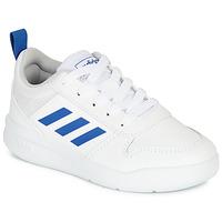 Sko Dreng Lave sneakers adidas Performance TENSAUR K Hvid / Blå