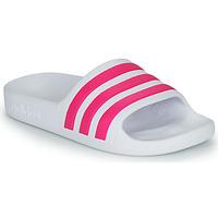 Sko Pige badesandaler adidas Performance ADILETTE AQUA K Hvid / Pink