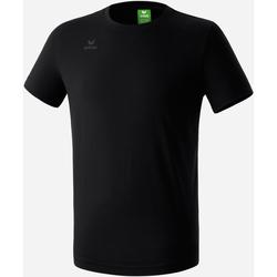 textil Dreng T-shirts m. korte ærmer Erima T-shirt  Teamsport noir