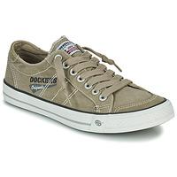 Sko Herre Lave sneakers Dockers by Gerli 30ST027-450 Kaki
