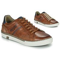 Sko Herre Lave sneakers Dockers by Gerli  Cognac
