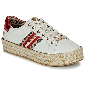Sko Dame Lave sneakers Dockers by Gerli 46GV202-509 Hvid / Flerfarvet