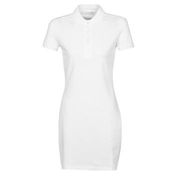 textil Dame Korte kjoler Lacoste EUGENIE Hvid
