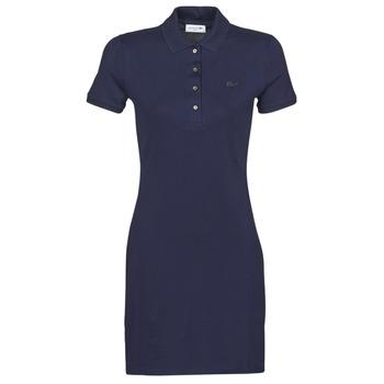 textil Dame Korte kjoler Lacoste SOLENE Marineblå
