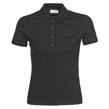 textil Dame Polo-t-shirts m. korte ærmer Lacoste PH5462 SLIM Sort