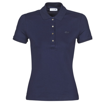 textil Dame Polo-t-shirts m. korte ærmer Lacoste PH5462 SLIM Marineblå