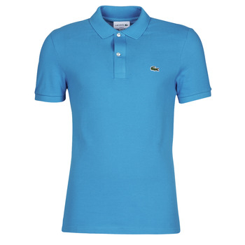 textil Herre Polo-t-shirts m. korte ærmer Lacoste PH4012 SLIM Blå / Turkis