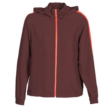 textil Dame Sweatshirts Lacoste AMINA Bordeaux