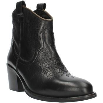 Sko Dame Høje støvletter Exton MZ40 Black