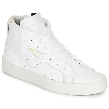 Sko Dame Høje sneakers adidas Originals adidas SLEEK MID W Hvid