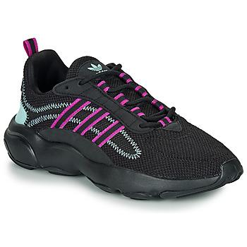 Sko Dame Lave sneakers adidas Originals HAIWEE W Sort / Violet