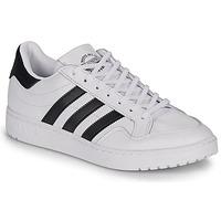 Sko Lave sneakers adidas Originals MODERN 80 EUR COURT Hvid / Sort