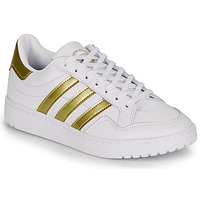 Sko Dame Lave sneakers adidas Originals MODERN 80 EUR COURT W Hvid / Guld