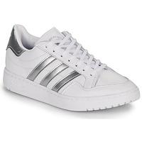 Sko Dame Lave sneakers adidas Originals MODERN 80 EUR COURT W Hvid / Sølv
