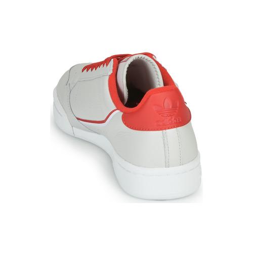CONTINENTAL 80  adidas Originals  lave sneakers    beige / rød OYrUb
