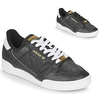 Sko Dame Lave sneakers adidas Originals CONTINENTAL 80 Sort