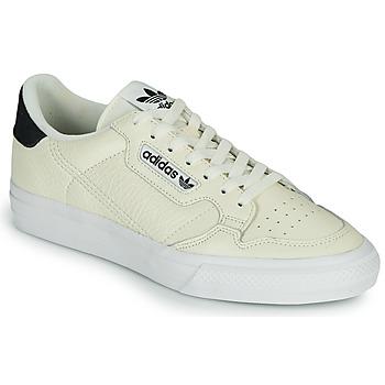 Sko Lave sneakers adidas Originals CONTINENTAL VULC Beige