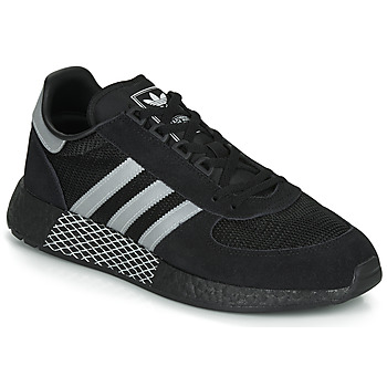 Sko Lave sneakers adidas Originals MARATHON TECH Sort / Hvid