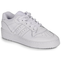 Sko Dame Lave sneakers adidas Originals RIVALRY LOW W Hvid