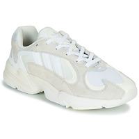 Sko Herre Lave sneakers adidas Originals YUNG 1 Hvid