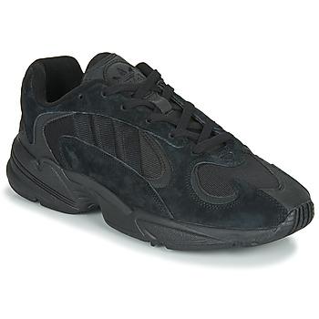 Sko Herre Lave sneakers adidas Originals YUNG 1 Sort