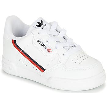 Sko Børn Lave sneakers adidas Originals CONTINENTAL 80 I Hvid