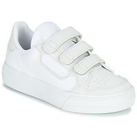 Sko Børn Lave sneakers adidas Originals CONTINENTAL VULC CF C Hvid / Beige